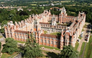 London Royal Holloway - the venue for the 25th SfEP annual conference 13-15 September 2014