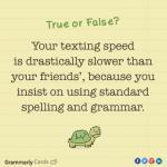 Gram marly texting speed