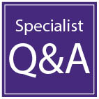 Specialist Q&A graphic
