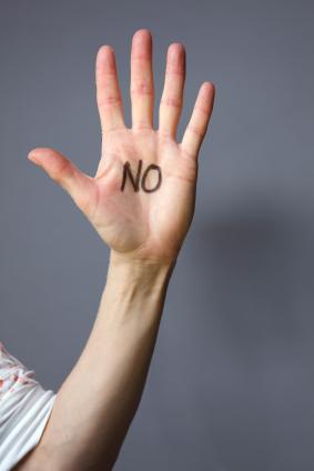 hand-no