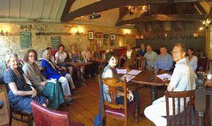 An SfEP Oxford group meeting
