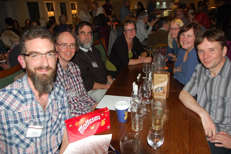 The winning team in the 2017 conference pub-style quiz