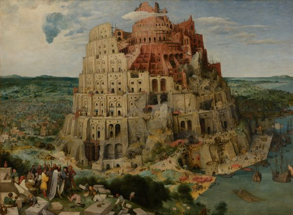 Pieter Bruegal the Elder: Tower of Babel