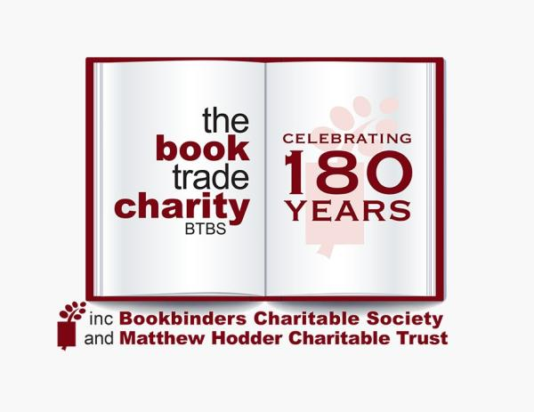 The Book Trade Charity (BTBS) logo